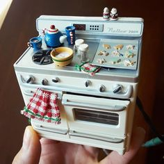 2018.08 Miniature Stove Dollhouse ♡ ♡ By bananagrahms