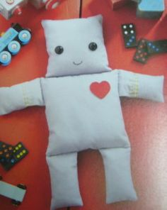 This robot can be adapted to all sorts of shapes and uses, as the book explains.