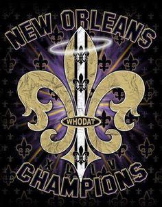 Saints champions