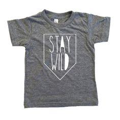 Stay Wild Banner – SandiLake Clothing