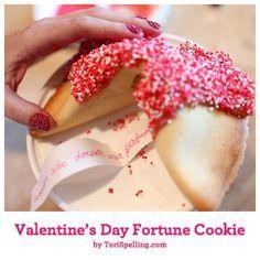 Valentine's Day Fortune Cookie
