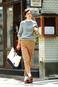Fudge's vintage fashion magazine, Fudge – Miracles from Nature Jones Fashion, Fashion Moda, Look Fashion, Winter Fashion, Girl Fashion, Fashion Outfits, Tomboy Fashion, Street Fashion, Fashion Trends
