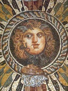 Egypt Picture - Medusa Mosaic