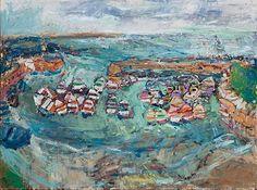 Deborah Donnelly - Duke Street Art Ltd Cupcake Images, Oil Painting Texture, Summer Waves, Street Gallery, Vivid Imagery, Farm Yard, Brush Strokes, Kitsch, Boats