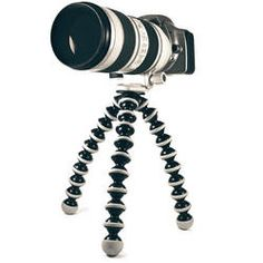 Joby-Gorillapod, great for taking steady shots on the go!