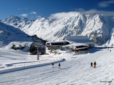 Cool winter morning (Ischgl, Austria). One of my favourite places to ski. Bliss