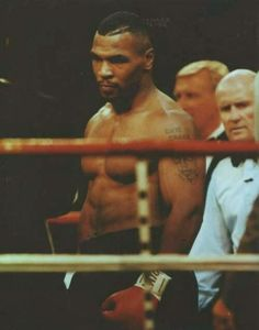 Mike Tyson was downright scary in his prime.