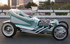 Rat Fink's Outlaw roadster.