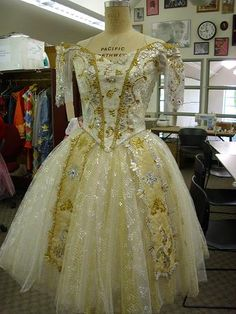 Wedding gown from PNB's Coppelia