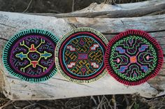 Shipibo Textile From the Amazon by BecuzWhy on Etsy