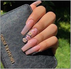 Top 101 acrylic nail designs of may 2019 page 3 – Long Nail Designs – Water – acrylicnails Nail Designs Pictures, Long Nail Designs, Art Designs, Clear Nail Designs, Nail Pictures, Summer Acrylic Nails, Cute Acrylic Nails, Holiday Acrylic Nails, Cute Acrylic Nail Designs
