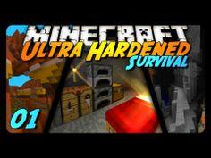 Minecraft: Ultra Hardened Survival LP - 001 - NO REGEN!