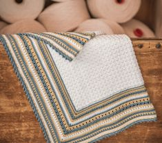 Very Soft And Lightweight Baby Blanket Crochet Pattern is part of Knitting and Crochet Patterns Ravelry - Such a lovely little blanket! This amazing lightweight baby blanket crochet pattern is soft and perfectly sized for keeping your baby warm Crochet Baby Blanket Beginner, Easy Baby Blanket, Crochet Blanket Patterns, Blanket Yarn, Free Crochet, Knit Crochet, Chrochet, Giant Knitting, Knitted Blankets