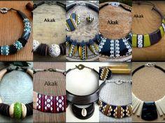 www.cewax.fr aime les colliers style ethnique afro tendance tribale d'Akak
