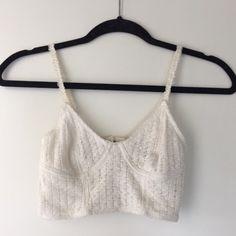 Pins & Needles Crochet Bralette Lightly worn. Pins & Needles Tops Crop Tops