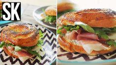 házi bagel - szendvics