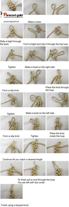 A tutorial on this quick deploy paracord bracelet. Paracord Tutorial, Paracord Knots, 550 Paracord, Paracord Bracelets, Survival Bracelets, Bracelet Tutorial, Survival Knots, Decorative Knots, Knot Braid