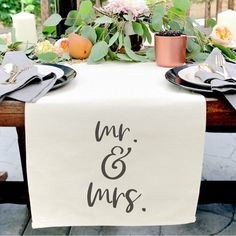 100 Boho Wedding Decor Finds You'll Love!   The Perfect Palette Thanksgiving Table Runner, Thanksgiving Parties, Thanksgiving Decorations, Holiday Parties, Thanksgiving Ideas, Fall Table Decorations, Friends Thanksgiving, Thanksgiving Celebration, Holiday Tables