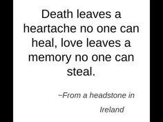 ...... Tombstone quote