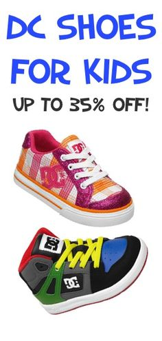 7ab461aaefb28 DC Shoes for Kids ~ up to 35% off!  shoes Fashion Clothes