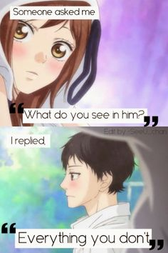 Futaba and Kou ~Ao Haru Ride