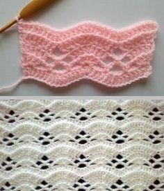 Crochet Shell Free Pattern