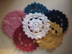 How to-  crochet doily.