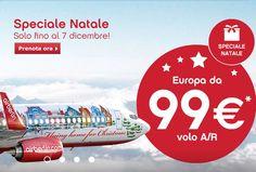 VOLA IN EUROPA CON AIR BERLIN A 99 € ANDATA E RITORNO – FINO AL 7 DICEMBRE 2014