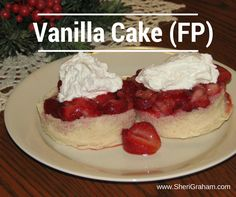 VANILLA CAKE (THM-FP)... by Sheri... 1 T oat fiber.. 1 T coconut flour.. 1 T Whey Protein Powder – Vanilla.. 1 T Sweet Blend or Truvia (to taste).. 1/2 t. baking powder.. 1/2 t. Glucomannan.. dash salt.. 1/3 cup egg whites.. splash vanilla... Mix all ingredients in a large ramekin or small glass bowl and bake in microwave for about 1 min 20 sec. Baking time varies on container. bake in oven at 350 degrees for about 20 minutes.