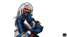 [FA]Soldier 76(female ver.) by kannovaku
