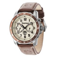 Shop Timberland Men's Brown Leather Strap Watch ✓ free delivery ✓ free returns on eligible orders. Timberland Style, Timberland Watches, Brown Leather Strap Watch, Watch Brands, Watches For Men, Boots, Accessories, Shopping