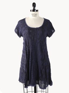 Dolman Patch Tunic - Tops - Clothing