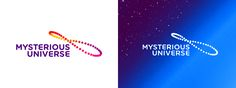 Misterious universe solar analemma logo design by alex tass