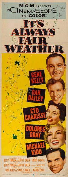 It's Always Fair Weather (1955) Gene Kelly, Dan Dailey, Cyd Charisse