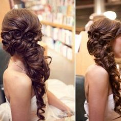 @Charllena Smith  how i want my hair for your wedding i think!