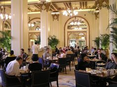 High Tea at the Peninsula Hotel in Hong Kong is the height of luxury.