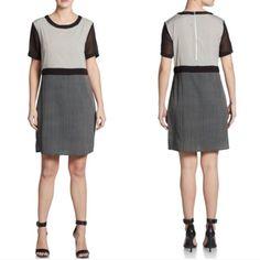 W118 By Walter Baker Womens Illusion-Sleeve Dress