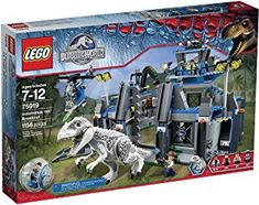 LEGO Jurassic World 75919 Indominus rex Breakout. Zach is inside the gyrosphere launched from the p Jurassic World Indominus Rex, Lego Jurassic World, Wild Kratts, Powerful Pictures, 5 Year Olds, Lego Creations, Cute Baby Animals, Lego Sets, Legos