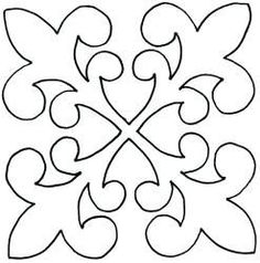 Paper plane with heart flat icon flat Quilting Stencils, Quilting Templates, Stencil Patterns, Applique Patterns, Longarm Quilting, Stencil Designs, Free Motion Quilting, Tile Patterns, Machine Quilting