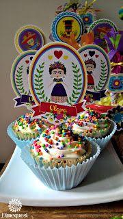 Fiesta Mexicana cupcakes.
