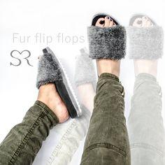Fur slippers... las sandalias de moda en las celebridades Modelo 730 Precio $295