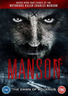 Official Artwork for the UK Release of 'House of Manson'