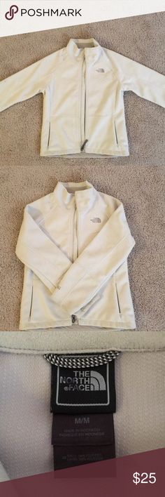 The North Face Jacket The North Face White Pollar Like Jacket The North Face Jackets & Coats Blazers