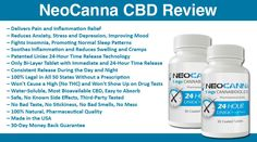 NeoCanna CBD: Is this the world's first and only 24-hour time-release CBD supplement? Is NeoCanna water soluble? Get more information on the Liniex 24-Hour Delivery Technology work? Does NeoCanna CBD have any side effects? Is it legal without a prescription? Read all of this and more in our full NeoCanna CBD Review.