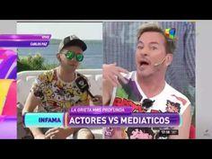 """Mediáticos vs  actores """"Guido Süller atacó sin piedad a Diego Reinhold"""""""