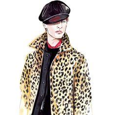 #31philliplim #inspiration #menswear #fashion #fall16 #fashionillustration #style #fashionart #fashionillustrator #lenaker #watercolor