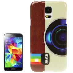 [USD0.77] [EUR0.70] [GBP0.56] Camera Pattern Plastic Case for Samsung Galaxy S5 / G900