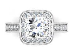 Diamore Diamonds Dallas : DD - 202135 : Custom Engagement Rings : Diamond Rings Dallas : Wholesale Diamond Rings : Halo Engagement Rings ; Custom Halo Diamond Rings : Dallas : Texas