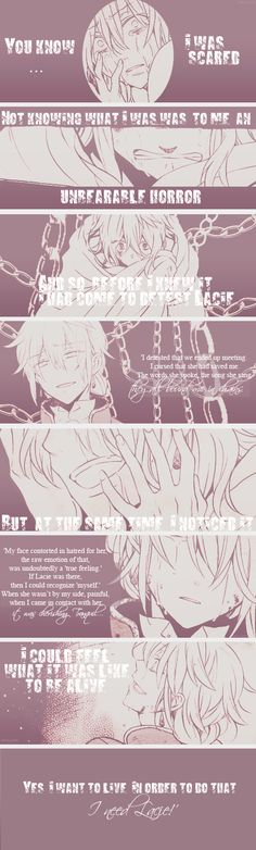 """In order to do that... I need Lacie!"" 