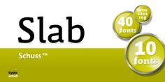 Schuss Slab Pro™ font download